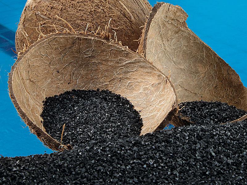 Кокосовый гранулированный активированный уголь Silcarbon для фильтров очистки питьевой воды