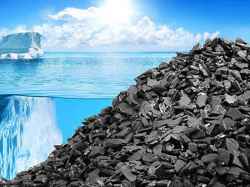 Каменноугольный гранулированный активированный уголь Silcarbon для очистки питьевой и сточной воды
